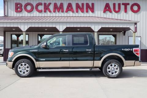 2013 Ford F-150 for sale at Bockmann Auto Sales in St. Paul NE