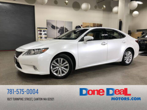 2013 Lexus ES 350 for sale at DONE DEAL MOTORS in Canton MA