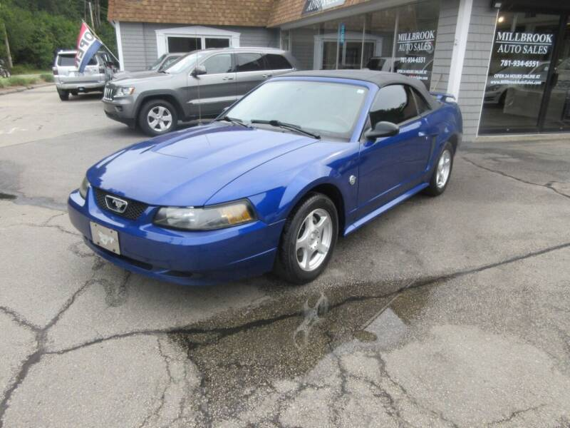 2004 Ford Mustang for sale at Millbrook Auto Sales in Duxbury MA