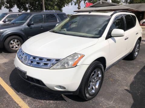 2004 Nissan Murano for sale at John 3:16 Motors in San Antonio TX