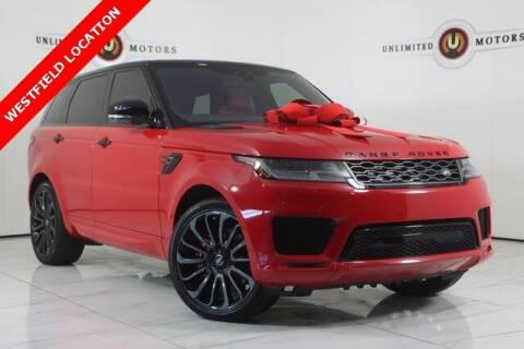 2019 Land Rover Range Rover Sport for sale at INDY'S UNLIMITED MOTORS - UNLIMITED MOTORS in Westfield IN