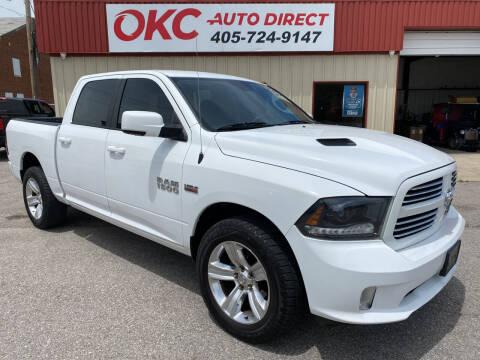 2015 RAM Ram Pickup 1500 for sale at OKC Auto Direct in Oklahoma City OK
