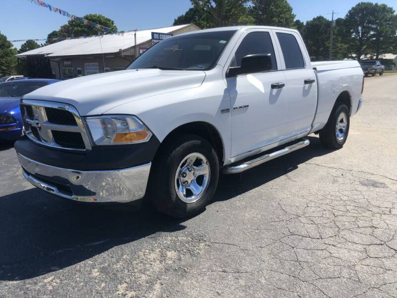 2010 Dodge Ram Pickup 1500 for sale at EAGLE ROCK AUTO SALES in Eagle Rock MO