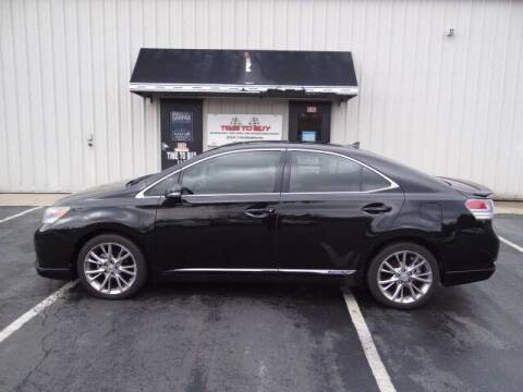 2010 Lexus HS 250h for sale at Time To Buy Auto in Baltimore OH