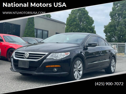 2010 Volkswagen CC for sale at National Motors USA in Federal Way WA