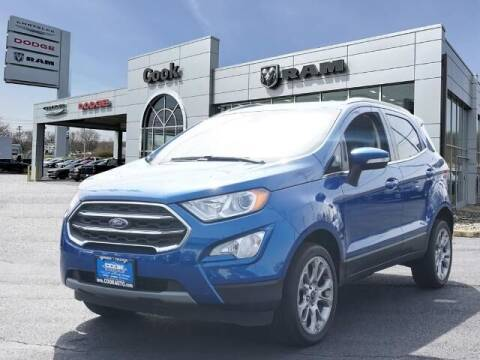 2019 Ford EcoSport for sale at Ron's Automotive in Manchester MD