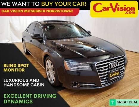 2014 Audi A8 L for sale at Car Vision Mitsubishi Norristown in Trooper PA