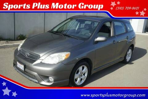 2007 Toyota Matrix for sale at Sports Plus Motor Group LLC in Sunnyvale CA