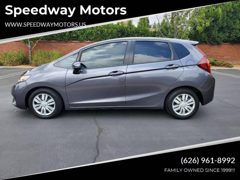 2015 Honda Fit for sale at Speedway Motors in Glendora CA