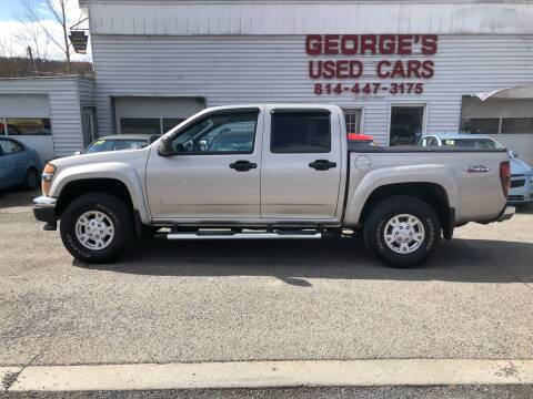 2008 GMC Canyon for sale at George's Used Cars Inc in Orbisonia PA