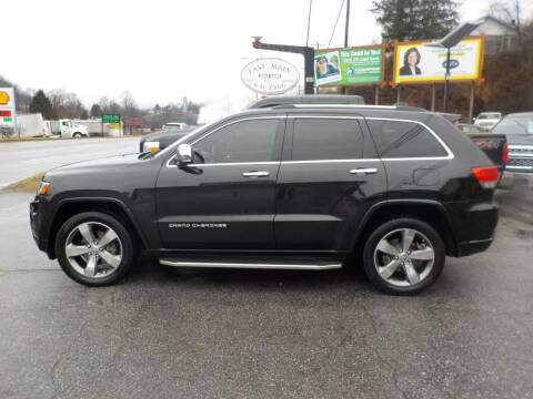 2014 Jeep Grand Cherokee for sale at EAST MAIN AUTO SALES in Sylva NC