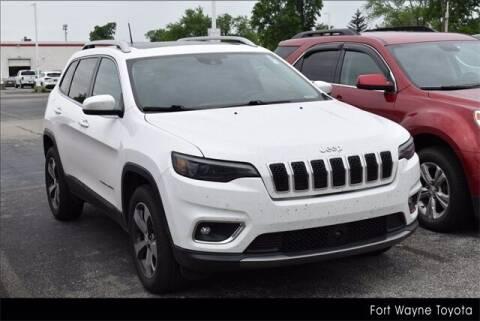 2019 Jeep Cherokee for sale at BOB ROHRMAN FORT WAYNE TOYOTA in Fort Wayne IN
