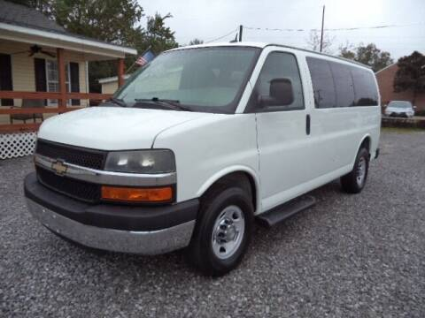 2014 Chevrolet Express Passenger for sale at PICAYUNE AUTO SALES in Picayune MS