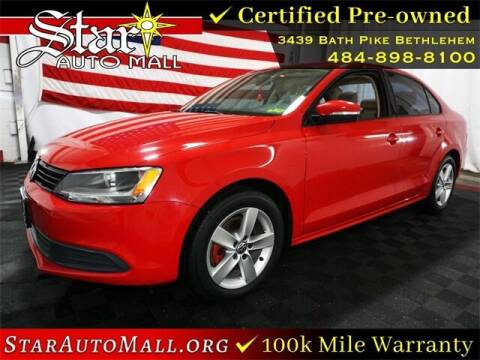 2012 Volkswagen Jetta for sale at STAR AUTO MALL 512 in Bethlehem PA