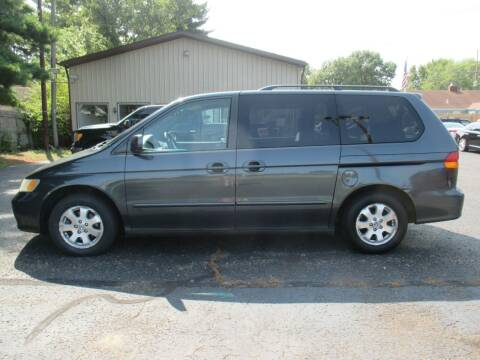 2004 Honda Odyssey for sale at Home Street Auto Sales in Mishawaka IN