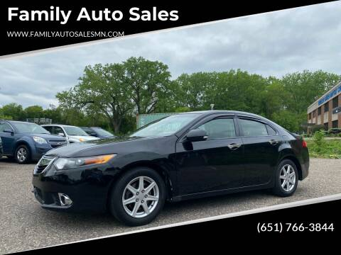 2011 Acura TSX for sale at Family Auto Sales in Maplewood MN