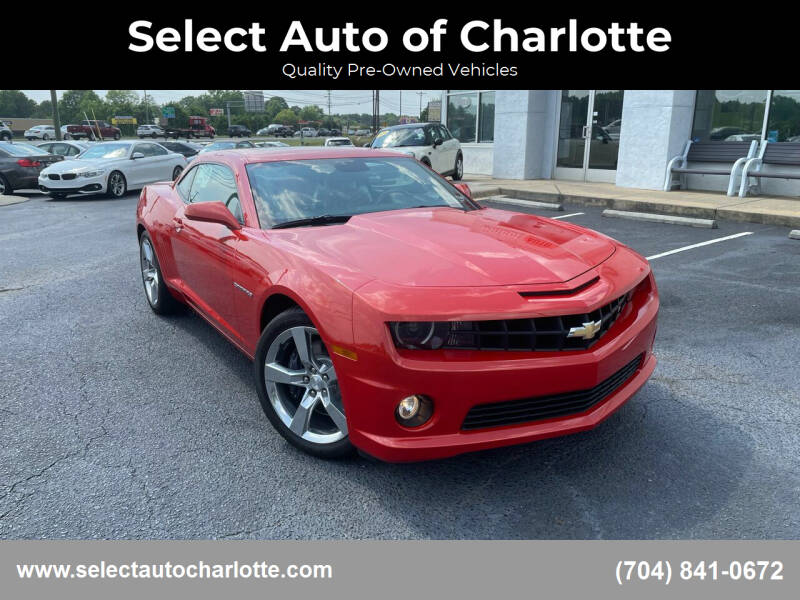 2010 Chevrolet Camaro for sale at Select Auto of Charlotte in Matthews NC