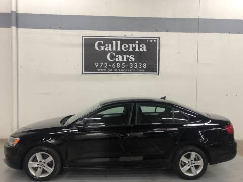 2012 Volkswagen Jetta for sale at Galleria Cars in Dallas TX