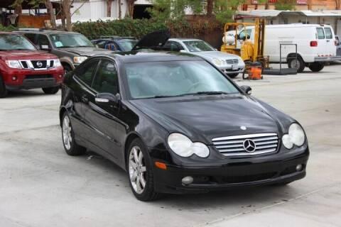 2004 Mercedes-Benz C-Class for sale at Car 1234 inc in El Cajon CA