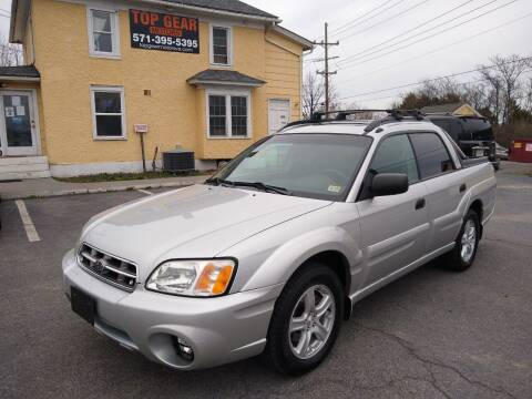 2006 Subaru Baja for sale at Top Gear Motors in Winchester VA