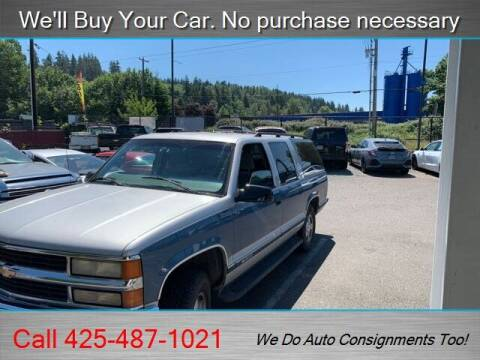 1997 Chevrolet Suburban for sale at Platinum Autos in Woodinville WA