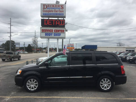 2014 Chrysler Town and Country for sale at Deckers Auto Sales Inc in Fayetteville NC