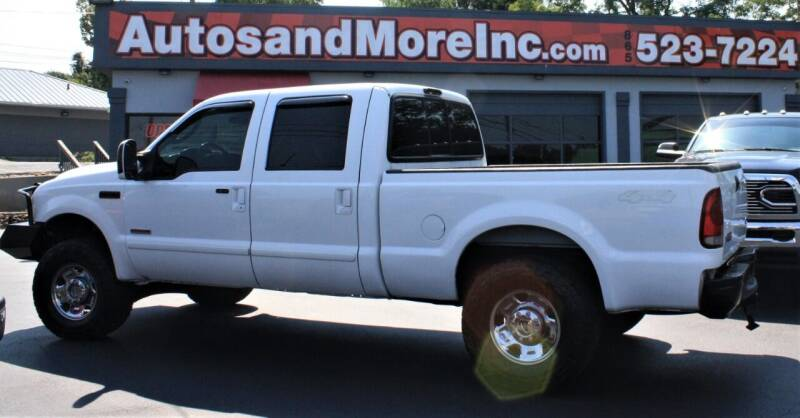 2006 Ford F-250 Super Duty for sale at Autos and More Inc in Knoxville TN