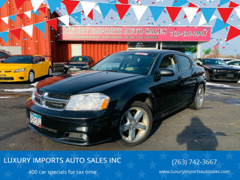 2011 Dodge Avenger for sale at LUXURY IMPORTS AUTO SALES INC in North Branch MN