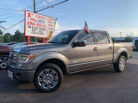 2013 Ford F-150 for sale at 1st Choice Auto Sales in Newport News VA