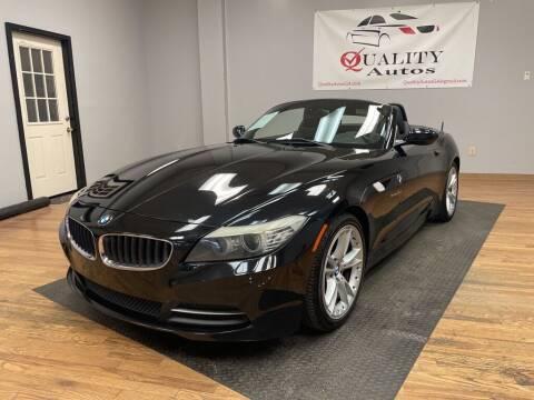 2009 BMW Z4 for sale at Quality Autos in Marietta GA