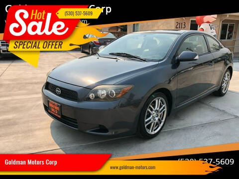 2008 Scion tC for sale at Goldman Motors Corp in Stockton CA
