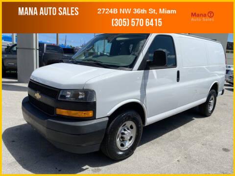 2019 Chevrolet Express Cargo for sale at MANA AUTO SALES in Miami FL