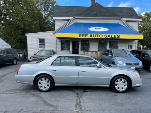 2007 Cadillac DTS for sale at EEE AUTO SERVICES AND SALES LLC in Cincinnati OH