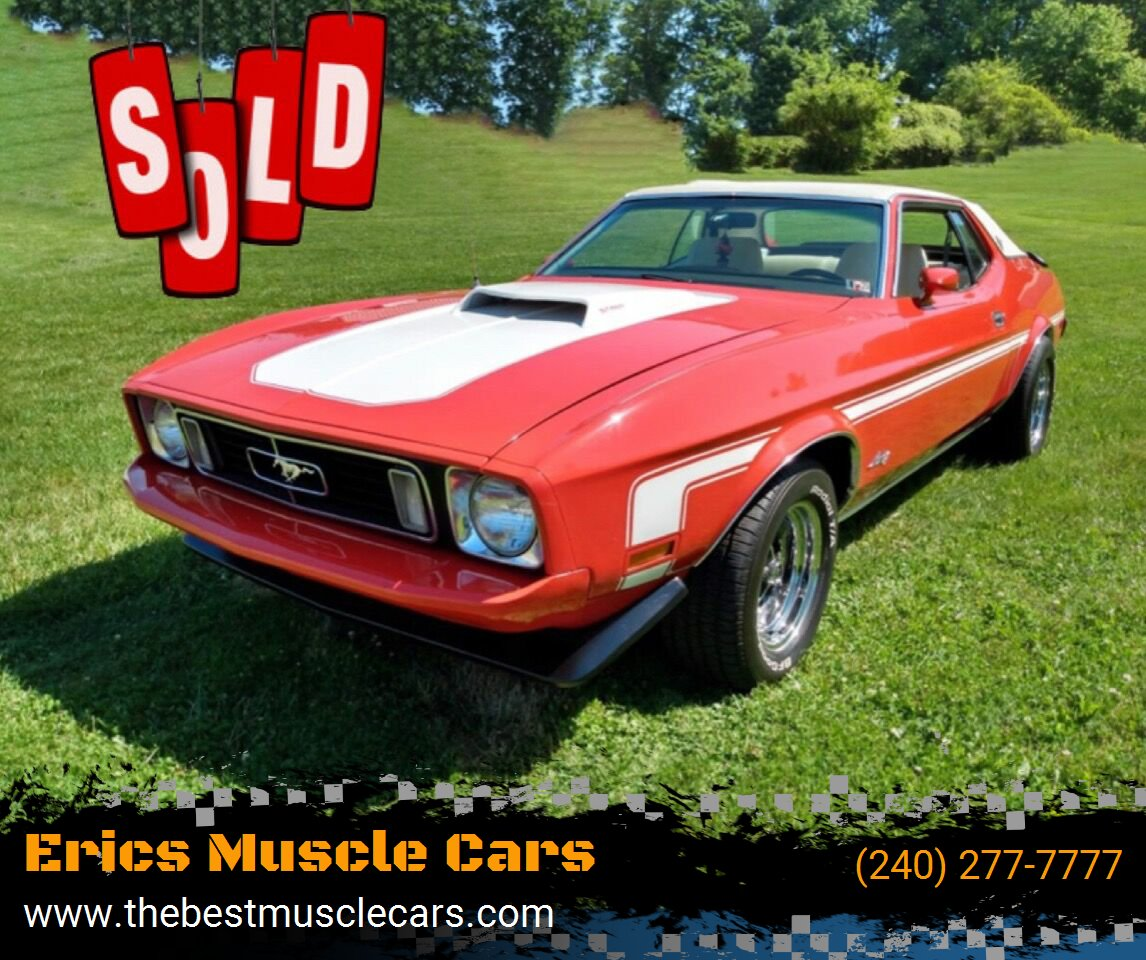 1973 Ford Mustang SOLD SOLD SOLD