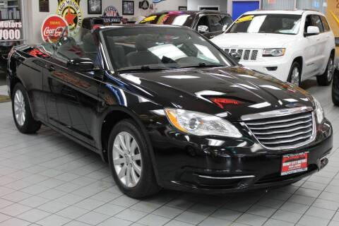 2011 Chrysler 200 Convertible for sale at Windy City Motors in Chicago IL