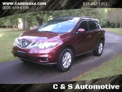 2012 Nissan Murano for sale at C & S Automotive in Nebo NC