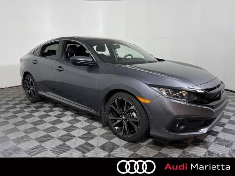 2020 Honda Civic for sale at CU Carfinders in Norcross GA