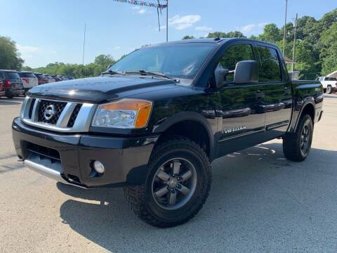 2014 Nissan Titan for sale at Elite Motors in Uniontown PA