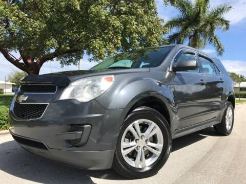2011 Chevrolet Equinox for sale at DS Motors in Boca Raton FL