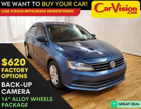 2017 Volkswagen Jetta for sale at Car Vision Mitsubishi Norristown in Trooper PA