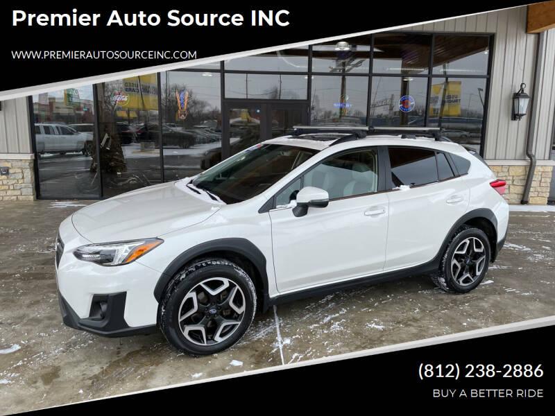 2019 Subaru Crosstrek for sale at Premier Auto Source INC in Terre Haute IN