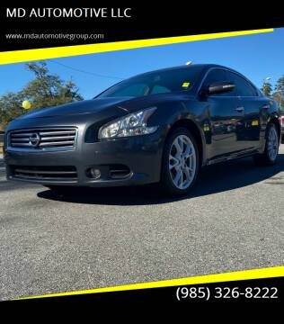 2013 Nissan Maxima for sale at MD AUTOMOTIVE LLC in Slidell LA