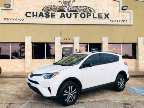 2018 Toyota RAV4 for sale at CHASE AUTOPLEX in Lancaster TX