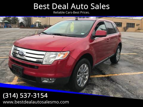 2010 Ford Edge for sale at Best Deal Auto Sales in Saint Charles MO