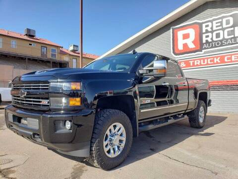 2018 Chevrolet Silverado 3500HD for sale at Red Rock Auto Sales in Saint George UT