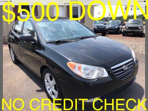 2008 Hyundai Elantra for sale at Cooks Motors in Westampton NJ