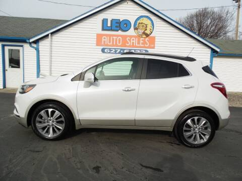 2018 Buick Encore for sale at Leo Auto Sales in Leo IN