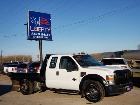 2008 Ford F-350 Super Duty for sale at Liberty Auto Sales in Merrill IA