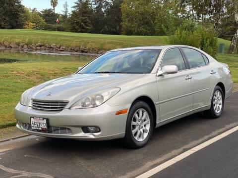 2004 Lexus ES 330 for sale at SHOMAN MOTORS in Davis CA