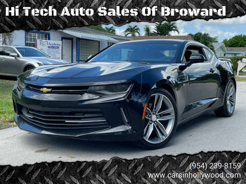 2017 Chevrolet Camaro for sale at Hi Tech Auto Sales Of Broward in Hollywood FL